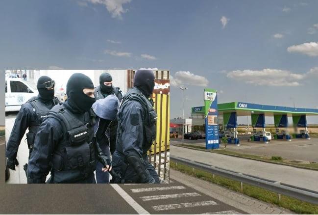"""DIICOT îl caută pe singurul navigator din Constanța care nu a oprit la OMV-ul de la Fetești de pe A2. Ar face parte din gruparea """"Rompetrolistu"""""""