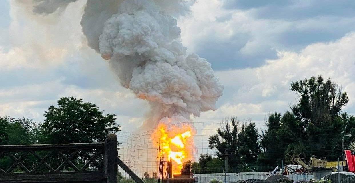 VIDEO și FOTO / Explozii puternice în zona industrială   a Constanței