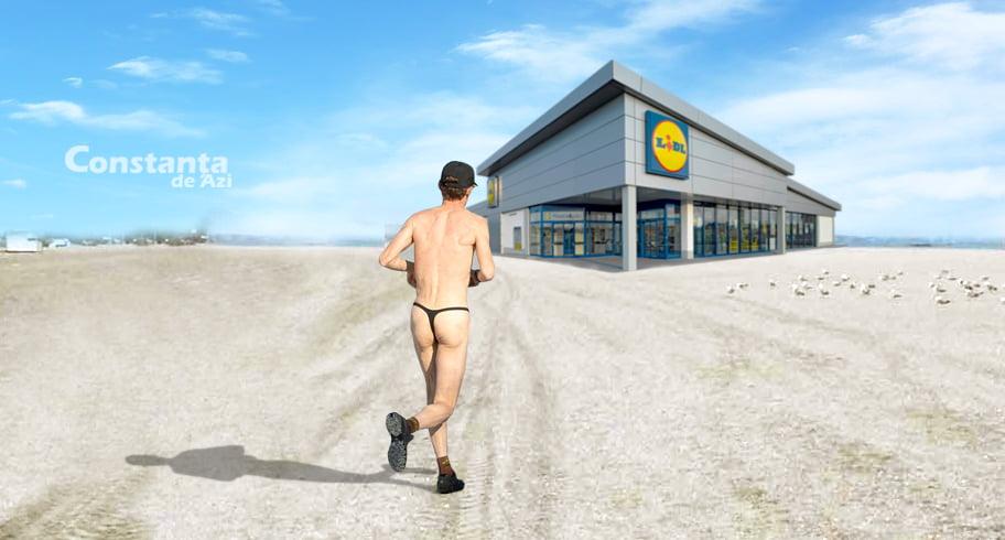 Profitând de plajele lărgite, Lidl va deschide un supermarket în locul pasarelei din Mamaia