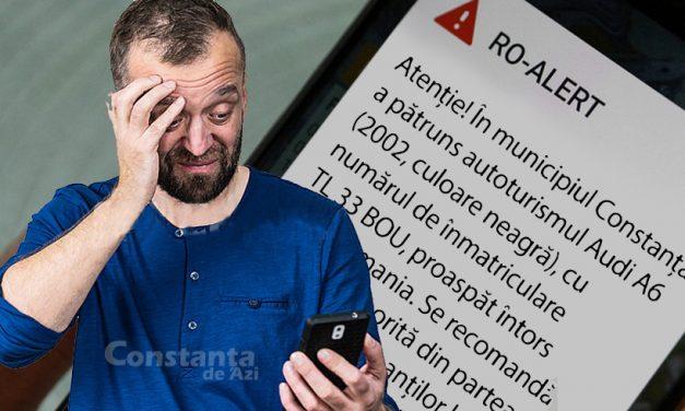 RO-Alert va emite mesaje de fiecare dată când o mașină cu numere de TL intră în Constanța