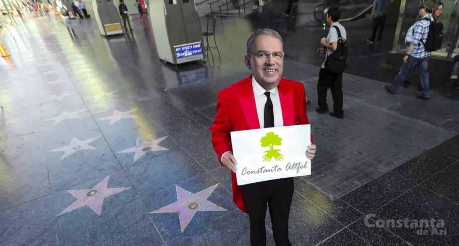 Chiţac vrea să plătească 4,2 milioane de dolari pentru licenţa unui trotuar cu stele, ca la Hollywood