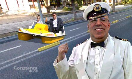 Constanța e pe val! Amiralul Chițac promite că va amenaja piste pentru hidrobiciclete în oraș