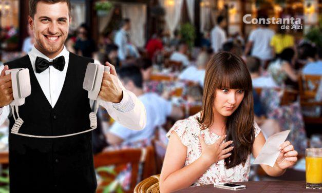 """Chelnerii din Mamaia aduc nota de plată împreună cu un defribilator. """"Îi ținem în viață până achită"""""""