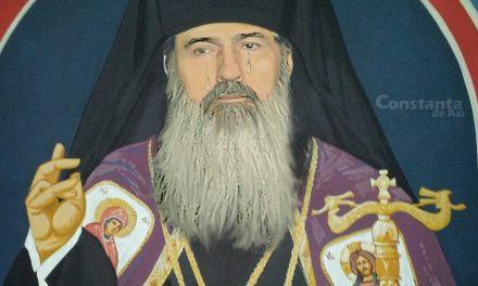 Chipul lui Teodosie, pictat într-o biserică, a început să lăcrimeze, că a văzut 1 leu pe jos și nu putea să-l ridice