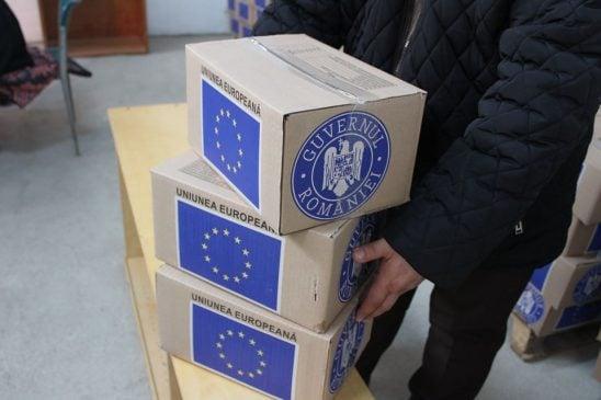 Primăria Nicolae Bălcescu acordă ajutoarele alimentare de la UE