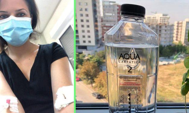 """Duși cu ambulanța la spital după ce au băut apă plată luată dintr-un supermarket din Constanța. """"Aveam tot corpul amorțit, tremuram, aveam urechile înfundate"""""""