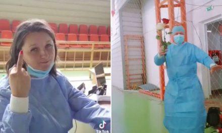VIDEO. Petrecere cu manele într-un centru de vaccinare. Cum s-au filmat asistenții medicali