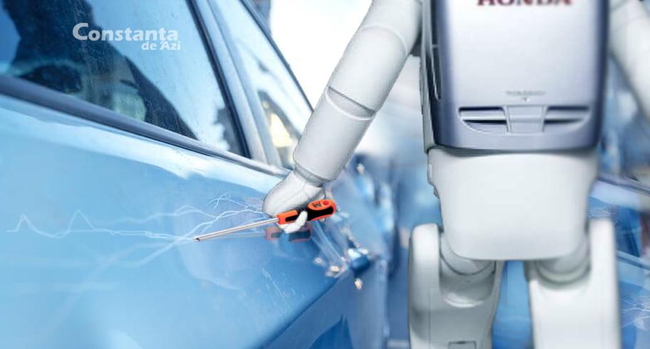 Constanța va avea parcări inteligente. Dacă nu plătești, un robot parcagiu îți zgârie mașina