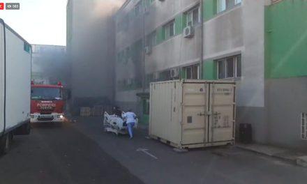Incendiu la Spitalul de Boli Infecțioase Constanța, chiar în saloanele de Terapie Intensivă